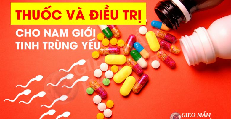 Thuốc và điều trị cho nam giới tinh trùng yếu 01