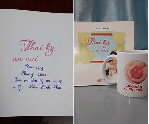 Món quà mình nhận được từ các Bác sĩ, Dược sĩ của Gieo mầm hạnh phúc!