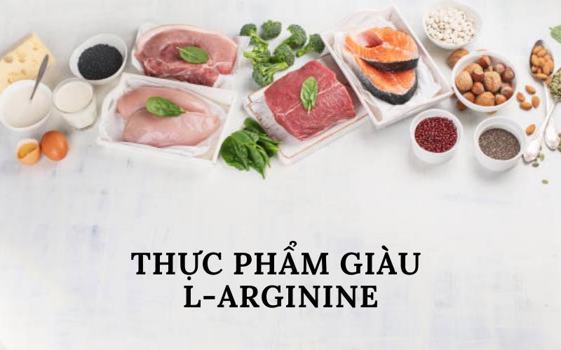 Thực phẩm giàu L-arginine
