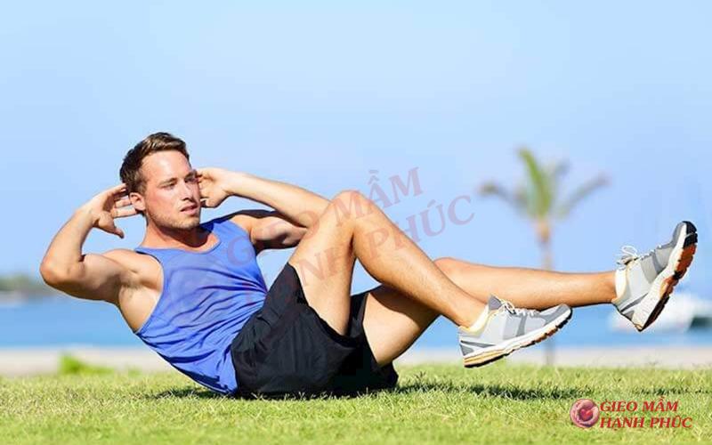 chế độ tập luyện tăng chất lượng tinh trùng