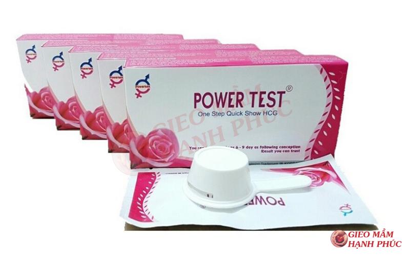các sản phẩm que thử thai trên thị trường